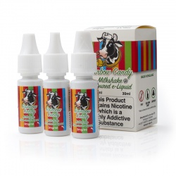 Eco Vape Rainbow Candy Milkshake V2 High VG E-Juice - Money Off!