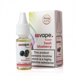 88Vape Fresh Blueberry E-Liquid - Money Off!