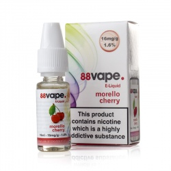 88Vape Morello Cherry E-Liquid - Money Off!