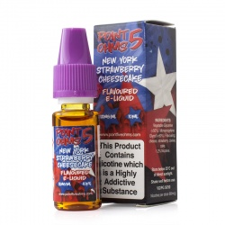 Eco Vape Point Five Ohms New York Strawberry Cheesecake 50/50 E-Liquid - Money Off!