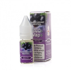 Eco Vape Premium Blackcurrant Menthol V2 E-Juice - Money Off!