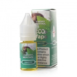 Eco Vape Premium Cherry Menthol V2 E-Juice - Money Off!