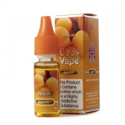 Eco Vape Premium Peach V2 E-Juice - Money Off!