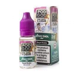 Pod Godz Amen-Thol E-Liquid - Money Off!