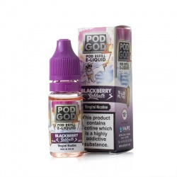 Pod Godz Blackberry Sabbath E-Liquid - Money Off!