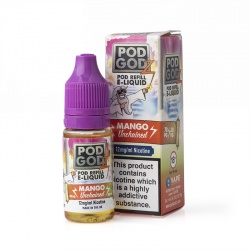 Pod Godz Mango Unchained E-Liquid - Money Off!