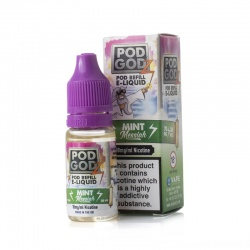 Pod Godz Mint Messiah E-Liquid - Money Off!