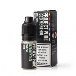 Project Pure Iced Menthol E-Liquid - Money Off!