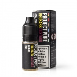 Project Pure Rhubarb and Custard E-Liquid