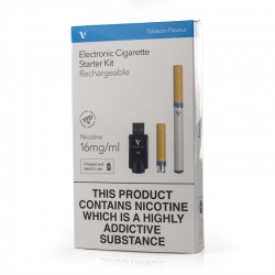 Vapour VL4 Pharma+ Tobacco 16mg E-Cigarette Starter Kit
