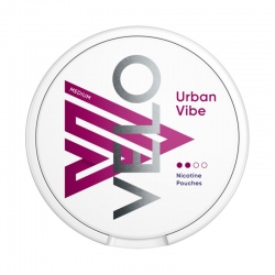 VELO Urban Vibe 6mg Nicotine Pouches (Pack of 20)