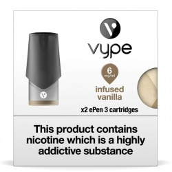 Vype ePen 3 Infused Vanilla Pods (Pack of 2 Refill Cartridges)