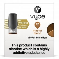 Vype ePen 3 vPro Master Blend Nicotine Salt Pods (Pack of 2)