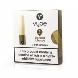 Vype ePen Caps Blended Tobacco Refill Pack - Money Off!