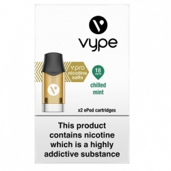 Vype ePod vPro Chilled Mint Cartridges (18mg)