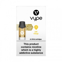 Vype ePod vPro Just Mango Cartridges (12mg)