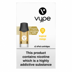 Vype ePod vPro Tropical Mango Cartridges (18mg)