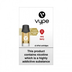 Vype ePod vPro Very Berry Cartridges (12mg)