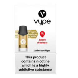 Vype ePod vPro Garden Strawberry Cartridges (18mg)