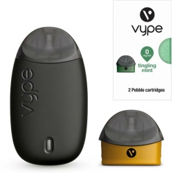 Vype Pebble Starter Kit with Five Tingling Mint Refills