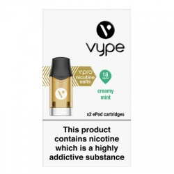 Vype ePod vPro Creamy Mint Menthol Cartridges (18mg)