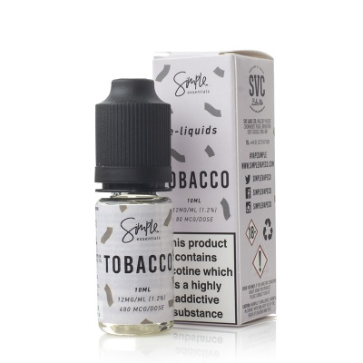 Simple Essentials Tobacco E-Liquid