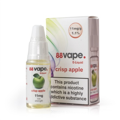 88Vape Crisp Apple E-Liquid