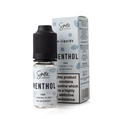 Simple Essentials Menthol E-Liquid - Money Off!