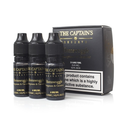 The Captain's Reserve Hornswoggle E-Juice