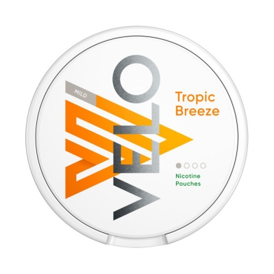 VELO Tropic Breeze 4mg Nicotine Pouches (Pack of 20)